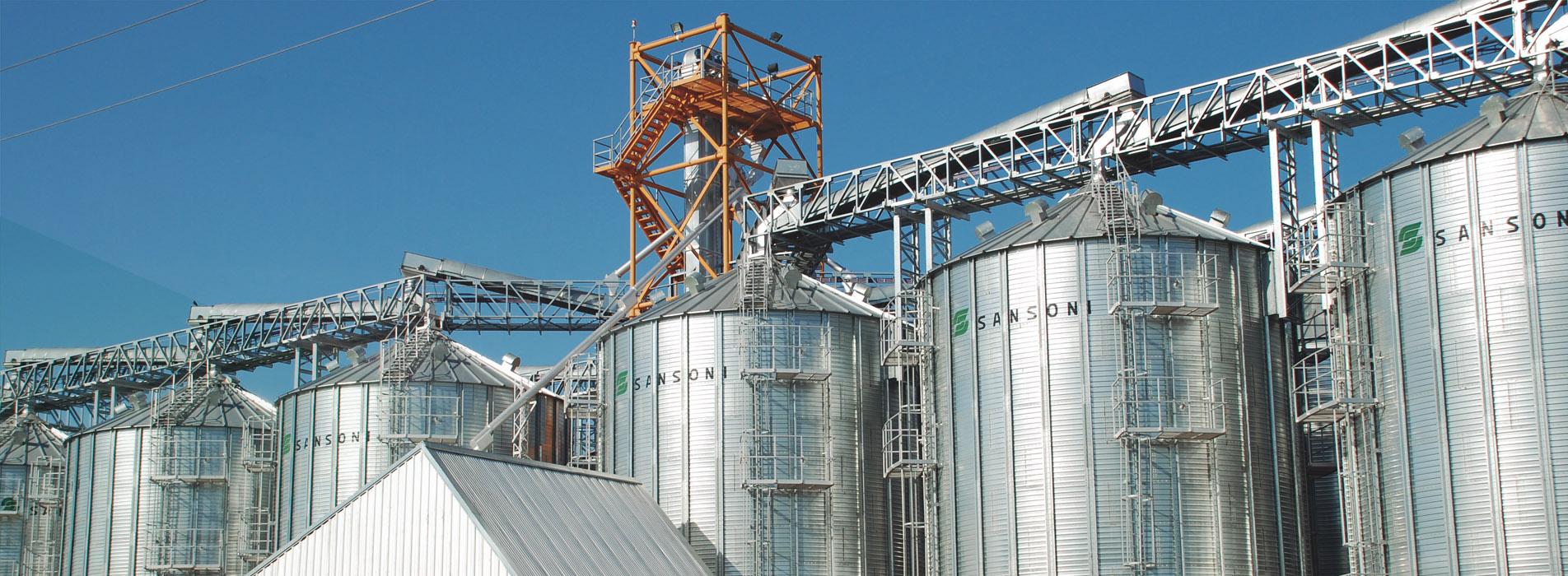 silos metalicos sansoni
